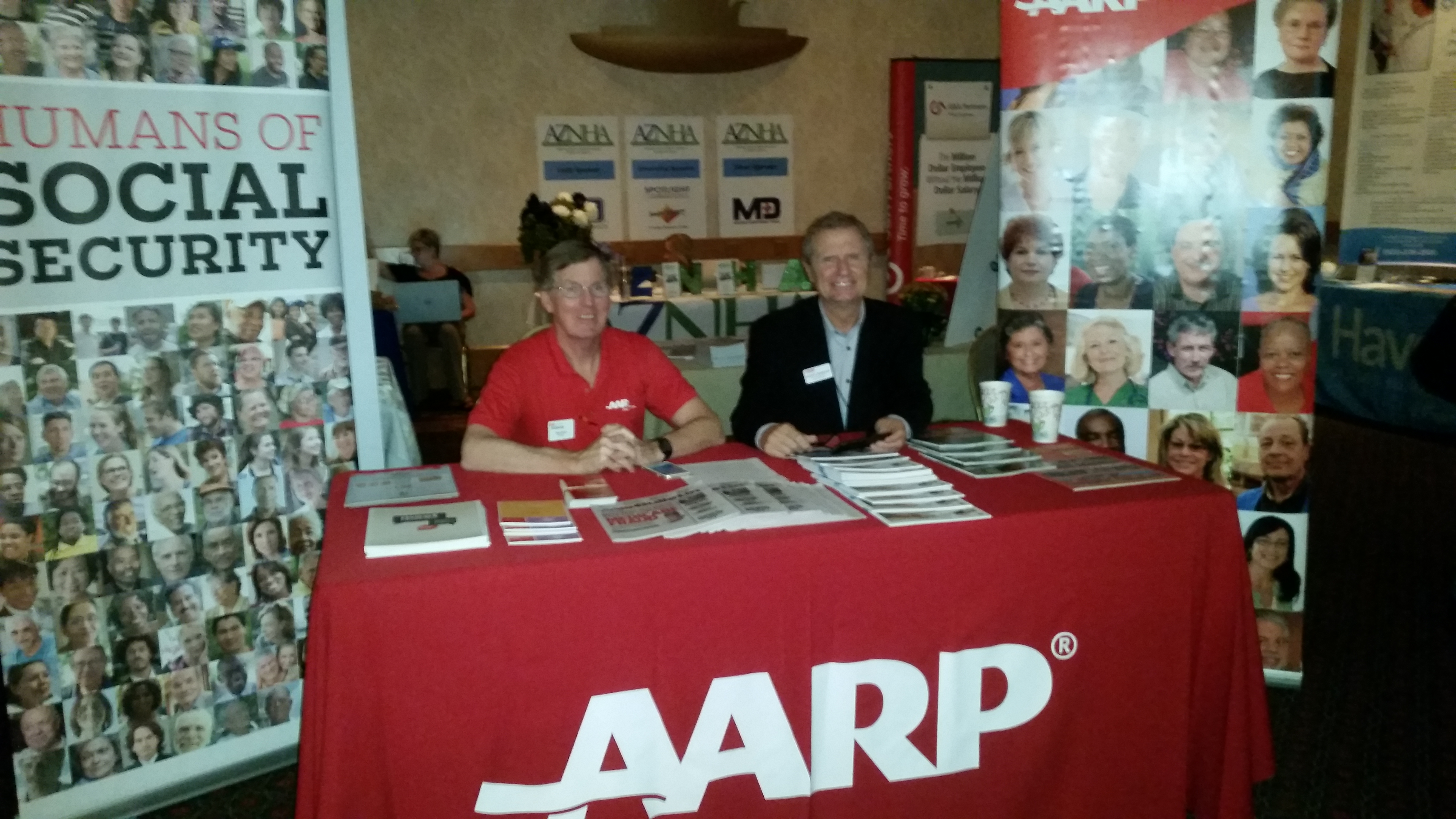 AARP Happy Exhibitors